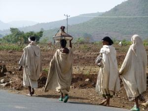 Ladies headed to the market