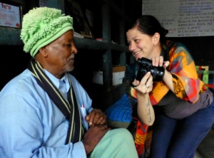 Sharing photos of Zumra's world