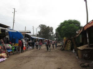 Very similar to Kenyan markets, but a lot more organized. This was the mattress section.