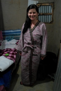 And this robe...very warm!